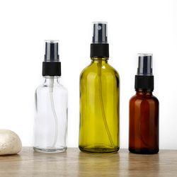 Aihogard 30 ml/50 ml/100 ml Rechargeable Portable Esstenial Huile Liquide Pulvérisateur Vide Atomiseur Maquillage Vaporisateur de parfum En Verre
