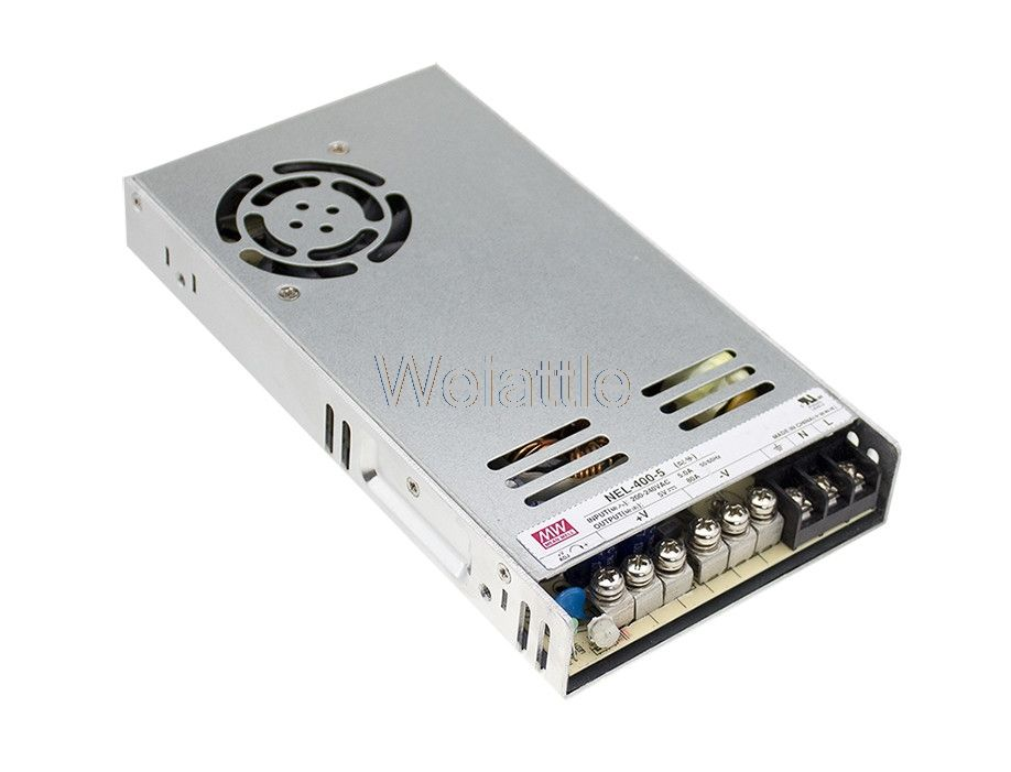 MEAN WELL original NEL-400-5 5V 80A meanwell NEL-400 5V 400W Single Output Switching Power Supply