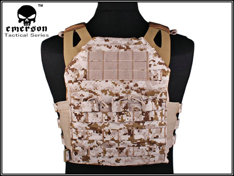 EMERSON JPC Vest Jumper carrier simplified version Tactical Vest AOR1 Airsoft Painball Military Army Combat Gear 7344E