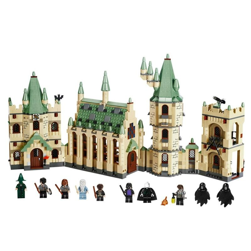 16030 Building Blocks Castle Legoing Harry Potter Movies Action Figure Blocks Baby Toys for Children Compatible with Legoe 4842