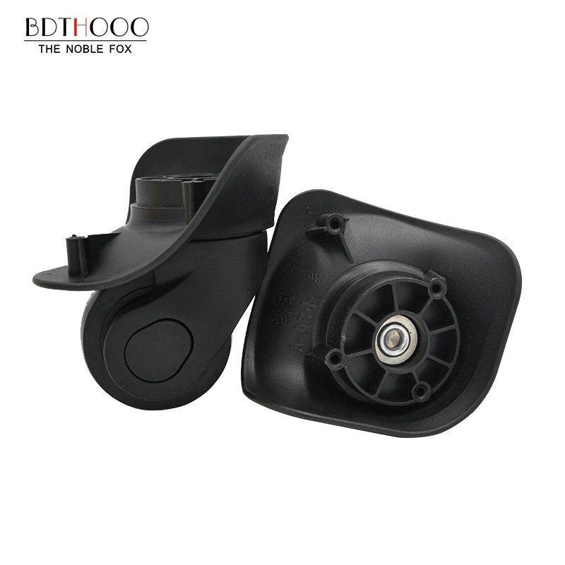 BDTHOOO Remplacement Bagages Roues pour valises Réparation Main Spinner Roulettes Pièces Chariot En Caoutchouc De Remplacement A08-WXL