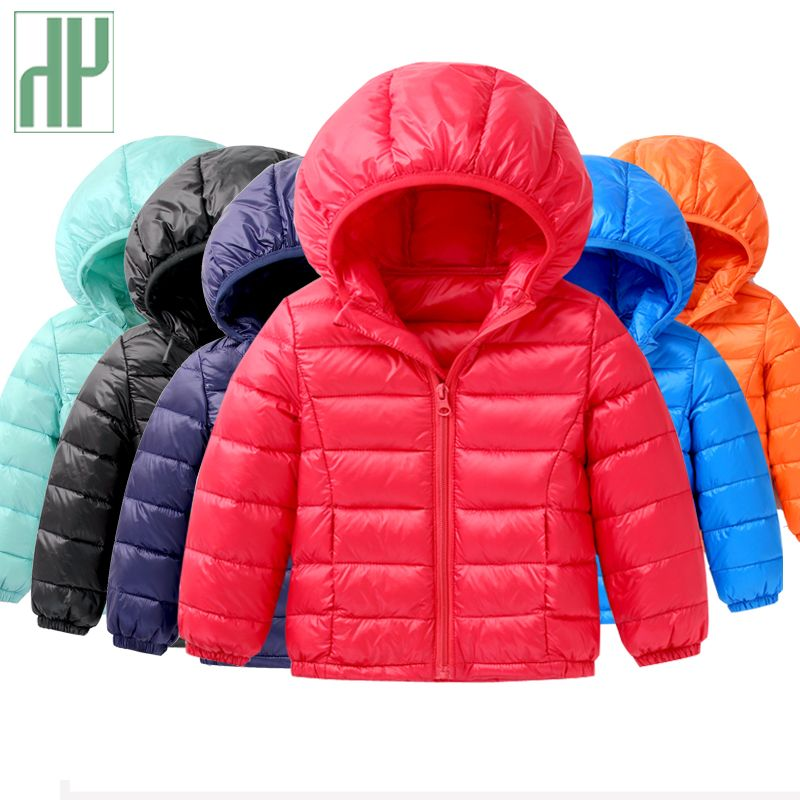 Children's winter jackets <font><b>down</b></font> jacket for girl autumn Warm hooded Long Sleeve baby toddler boys jacket kids parka outerwear