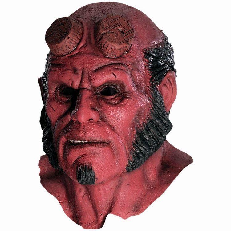 Hellboy Masque Capot Halloween Masques Réaliste Silicone cosplay effrayant masque latex capot mascara terreur robe de festa visage masque