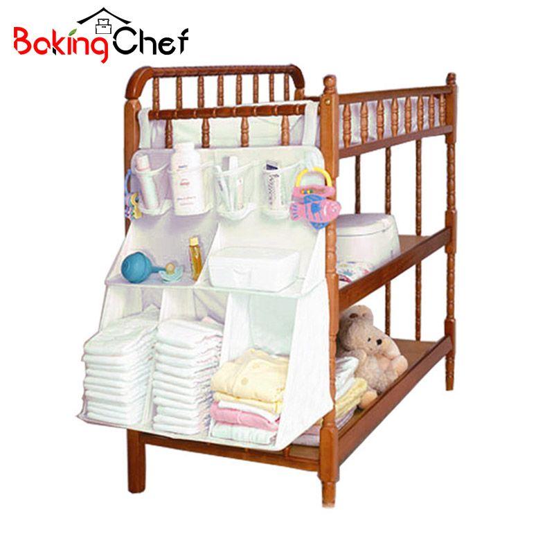 Bakingchef висит постели пеленки сумка для хранения детские кроватки рожок игрушки Организатор Шкаф Интимные аксессуары поставки Чехол