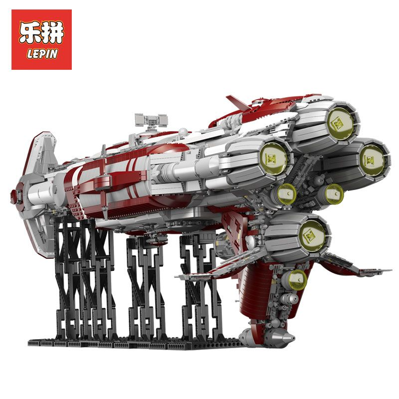 2018 Lepin Sets Star Wars Figures 7956Pcs 05079 MOC Zenith Old Republic escort cruiser Model Building Kits Blocks Bricks Kid Toy