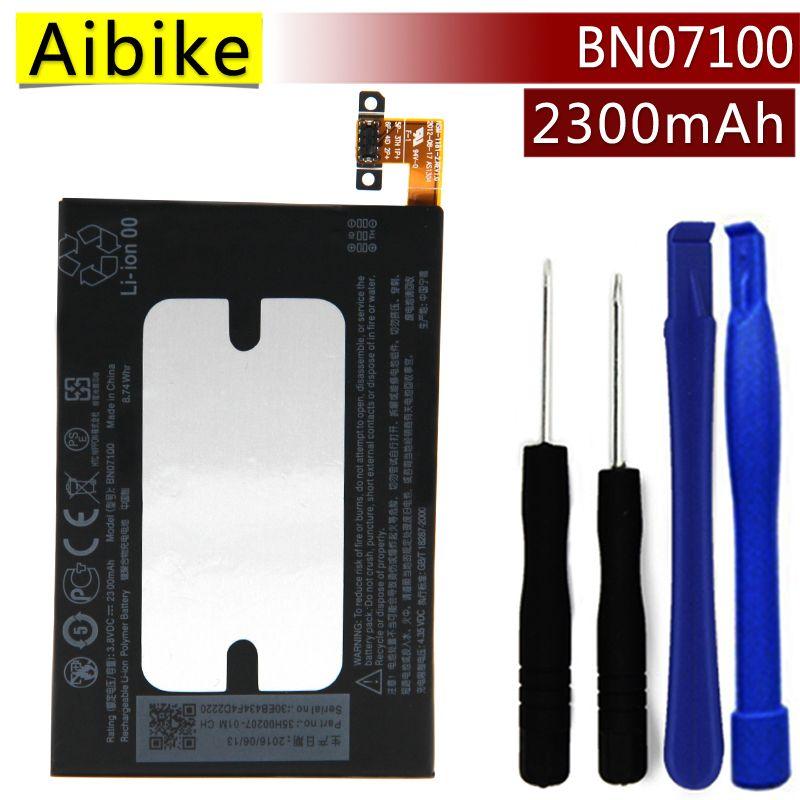 BN07100 Aibike Nueva batería original del teléfono móvil Para HTC UNO M7 802D 802 T 802 W 801N 801E 801 S Batería 2300 mAh Real reemplazo