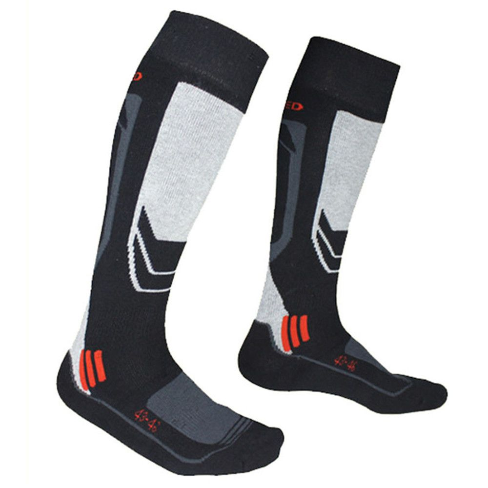 Winter Keep Warm Men Thermal Ski Socks Thick Cotton Sports Snowboard Cycling Skiing Camping Hiking Soccer Breathable High Socks