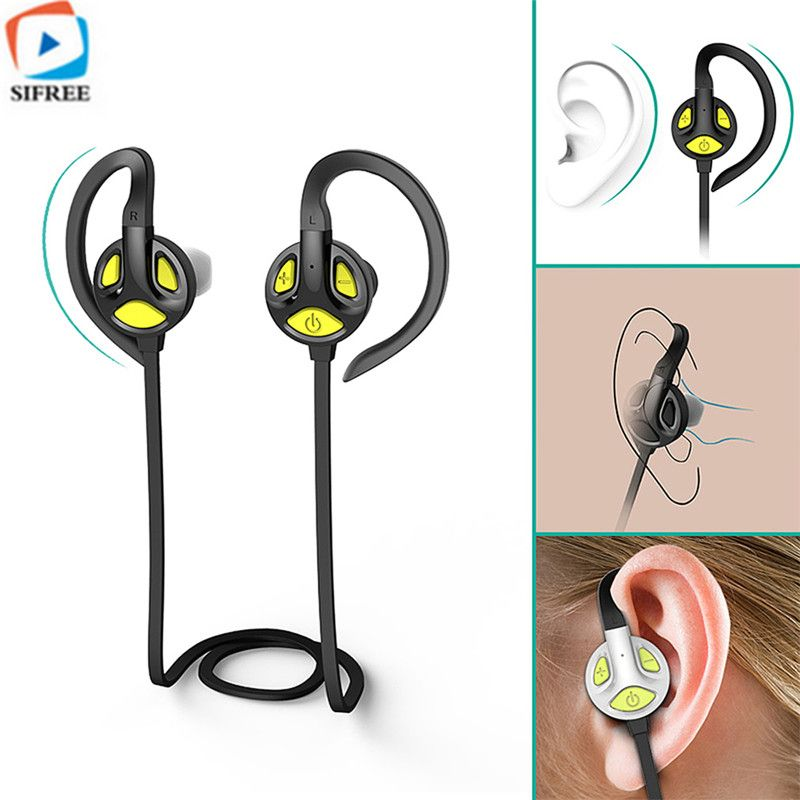 New S-502 Wireless Bluetooth 4.1 Headset Ear Hook HD Stereo Earphone and Headphones With Mic For a mobile phone