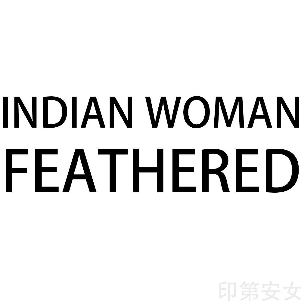 HDARTISAN Mur Art Toile Photos Femme Indienne À Plumes Pour Salon Portrait Peinture Home Decor No Frame