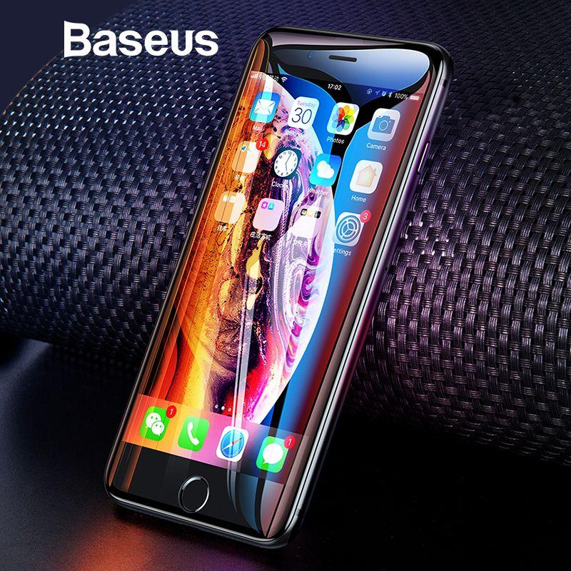 Baseus Universal Schutz Glas Für iPhone 7 8 6 6 s Screen Protector 3D Volle Abdeckung Aus Gehärtetem Glas Für iPhone 6 7 8 Plus