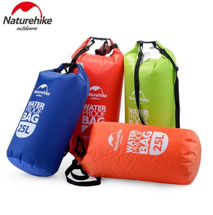NatureHike 2L 5L 15L 25L Ultralight Outdoor Travel Rafting Camping Hiking Swimming Waterproof Bag Dry Bag