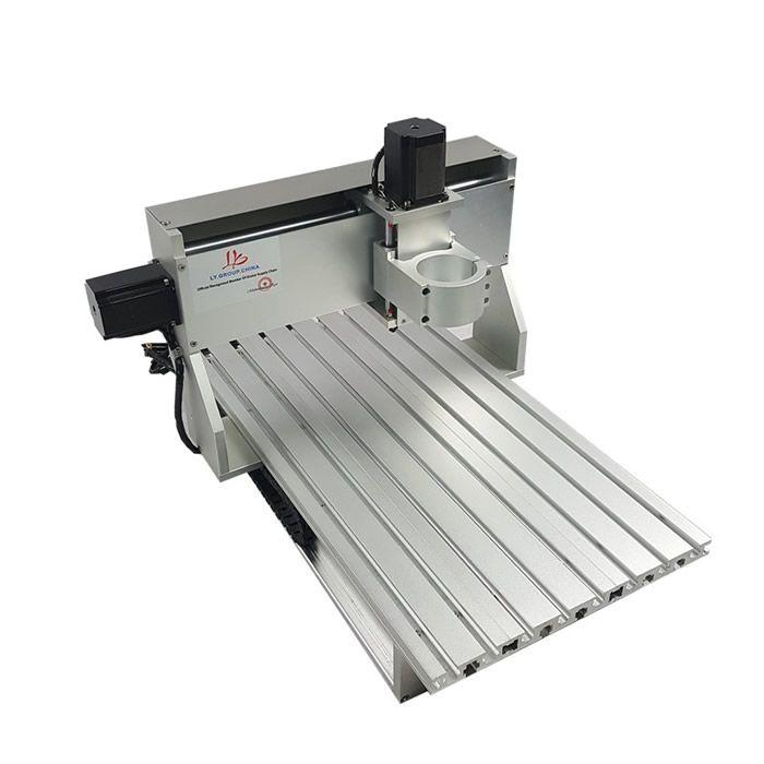 Mini cnc router 3040 CNC rahmen Mit stepper motor für diy aluminium teile