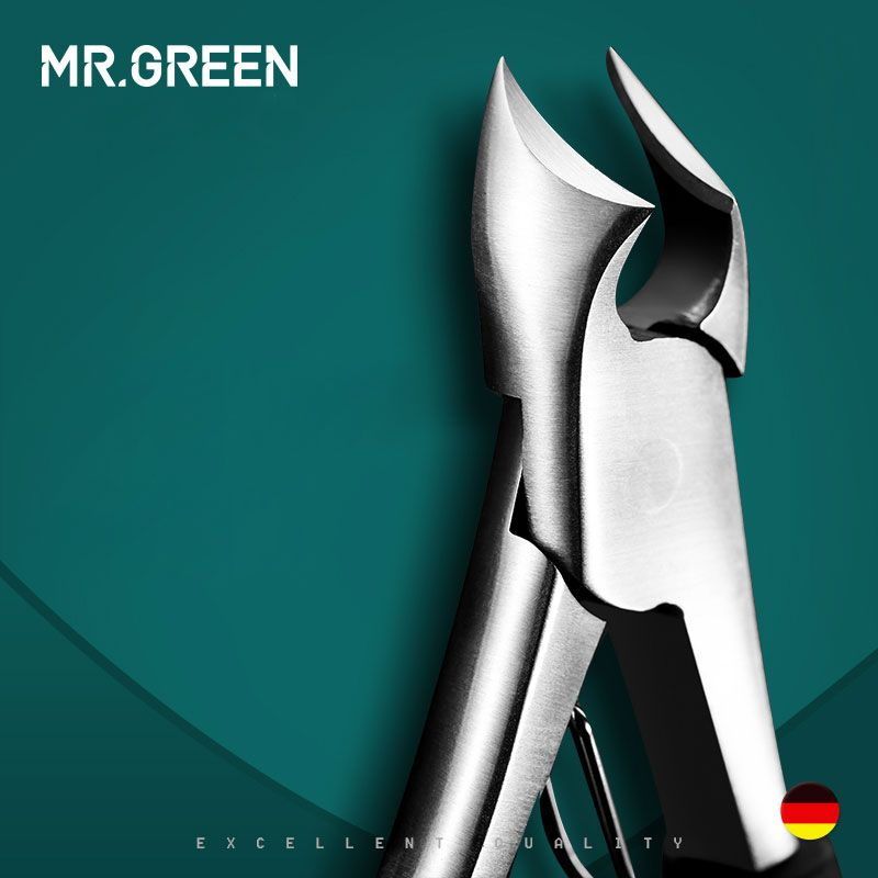 MR. GREEN Toe nouveau professionnel en acier inoxydable manucure tondeuse Art pinces cuticules ciseaux coupe-ongles le coupe-ongles