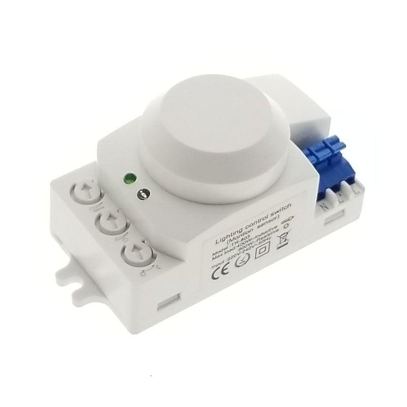 Offre spéciale 5.8 GHz HF système LED micro-ondes 360 degrés Radar capteur de mouvement interrupteur de lumière détecteur de mouvement du corps