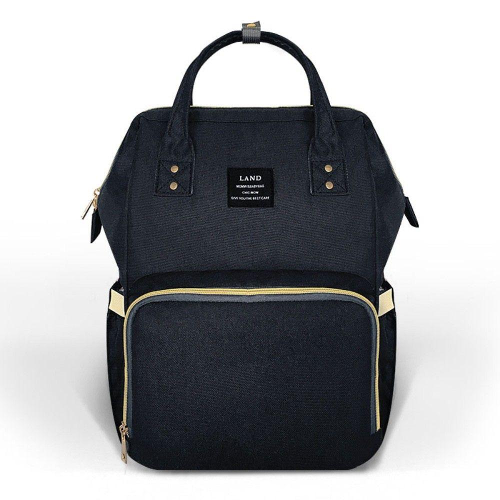 LAND Mommy Diaper Bag Large Capacity Baby Nappy Bags Desiger Nursing Bag Fashion Travel Backpack Baby Care Bebe Bag For Mom