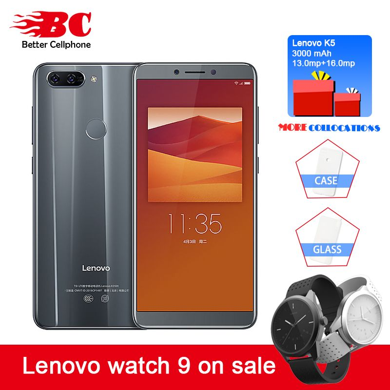 NEW Lenovo K5 K350t 3GB+32GB MTK6750 Octa core 1.5GHz 5.7