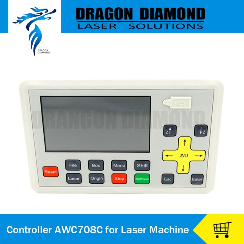 Anywells AWC708C Lite Co2 Laser Controller System