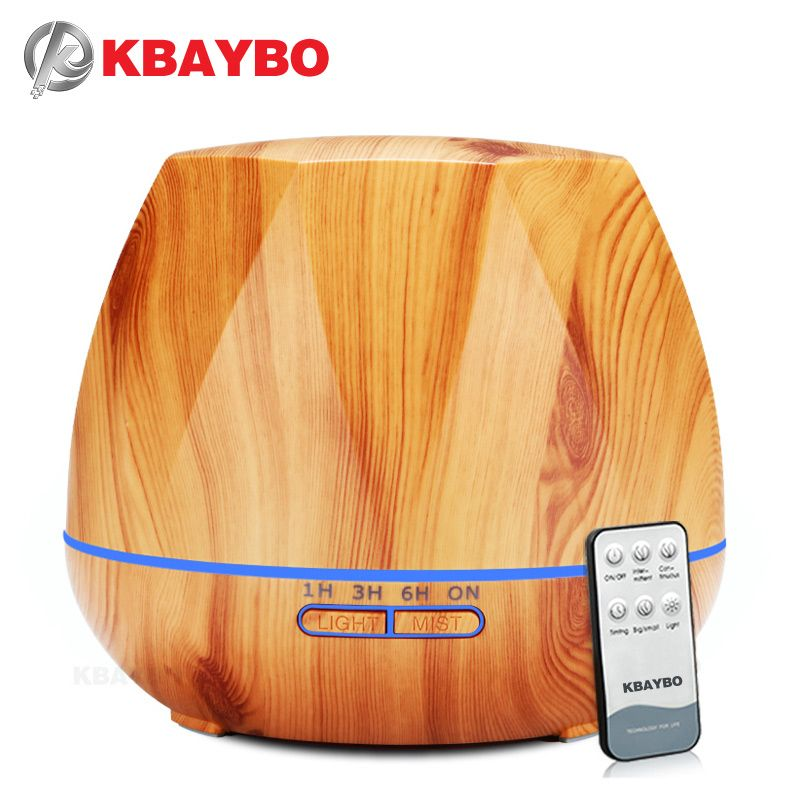 550ml Air Humidifier Essential Oil Diffuser Ultrasonic Cool Mist Humidifier LED Night Light for Office Home Bedroom Living Room