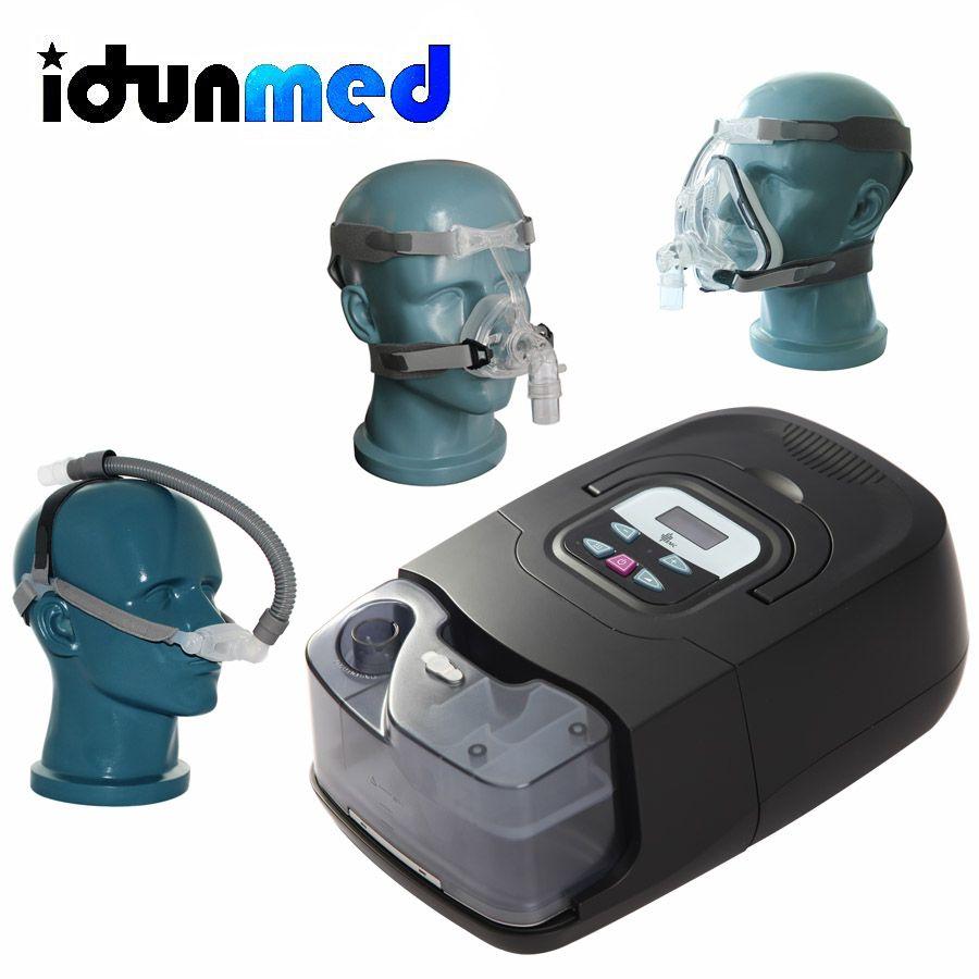 BMC CPAP Auto Maschine GI Anti Schnarchen Automatische Tragbare Gerät Mit Silikon Volle Gesicht Maske Strap Schläuche Filter Für Schlaf apnea