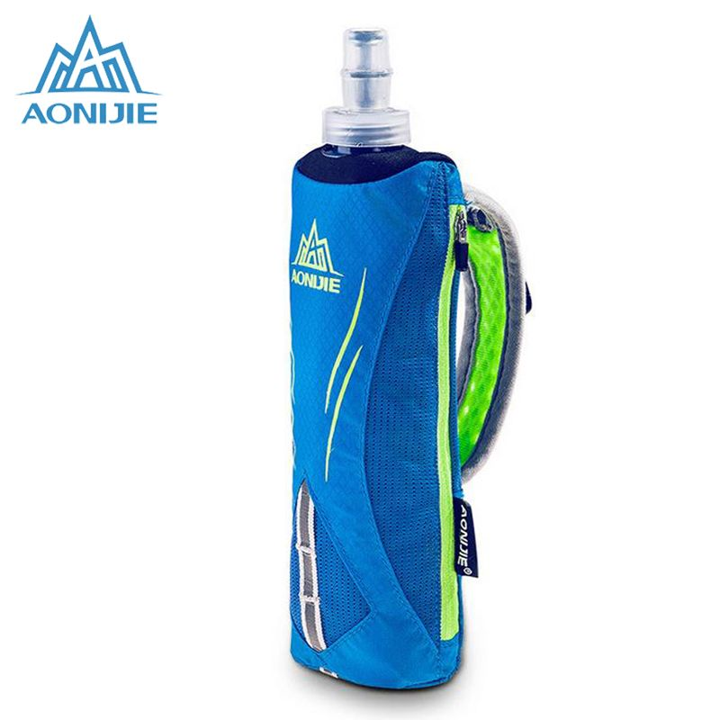 AONIJIE Running Nylon Marathon Kettle Pack Outdoor Sports Bag Men Hiking Cycling Running Hand Hold Kettle Bag With Water Bottles