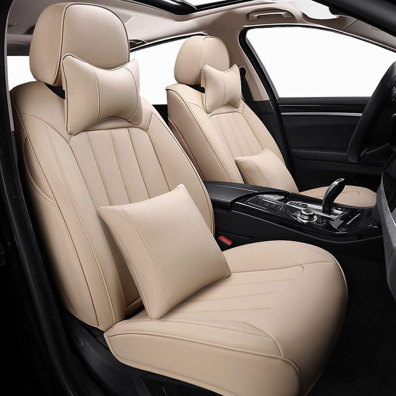 Custom Leder Auto Sitz Abdeckung Für ford ranger ford fusion focus 2 mk2 mondeo mk3 mk4 kuga auto zubehör Auto seat protector
