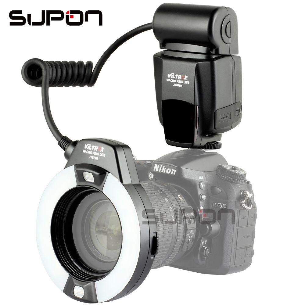 VILTROX JY-670N Macro i-TTL Ring Flash Light Speedlite for Nikon DSLR Camera Oral Cavity Teeth Ornaments Close-up Shooting#C1102