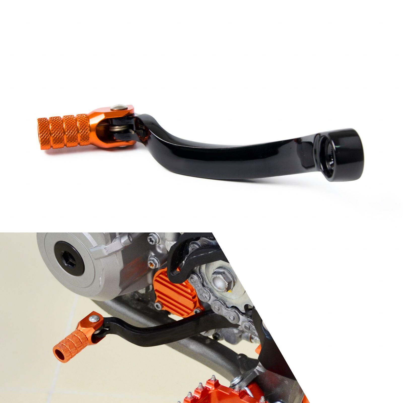 NICECNC CNC Folding Forged Gear Shifter Shift Lever Pedal For KTM 125 150 200 250 300 350 450 505 SX XC SX-F XC-F XC-W EXC XCF-W