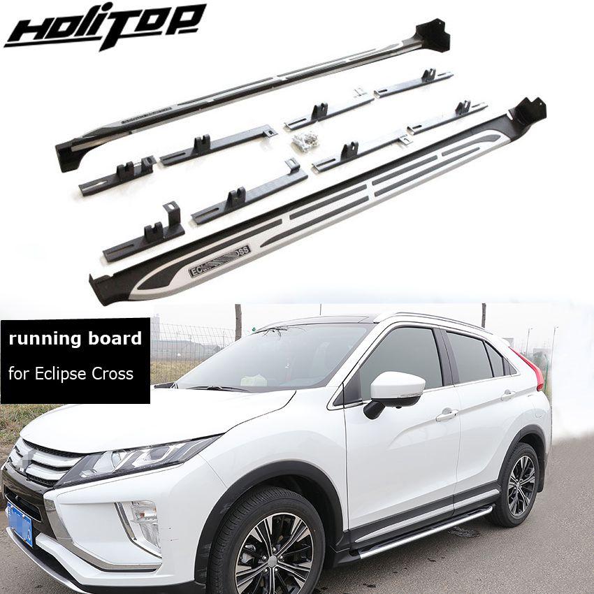 Spiel für Mitsubishi Eclipse Kreuz 2018-2019 fuß bord side bar trittbrett pedale. verdicken aluminium legierung. asien kostenloser versand.