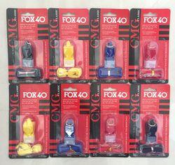 EDC fox40 Whistle Plastic FOX 40 Soccer Football Basketball Hockey Baseball Sports Classic Referee Whistle Survival Outdoor