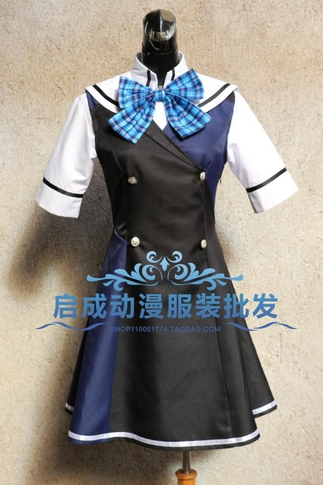 2016 New Arrival Japanese Anime LE LABYRINTHE DE LA GRISAIA Cosplay Costumes For Women