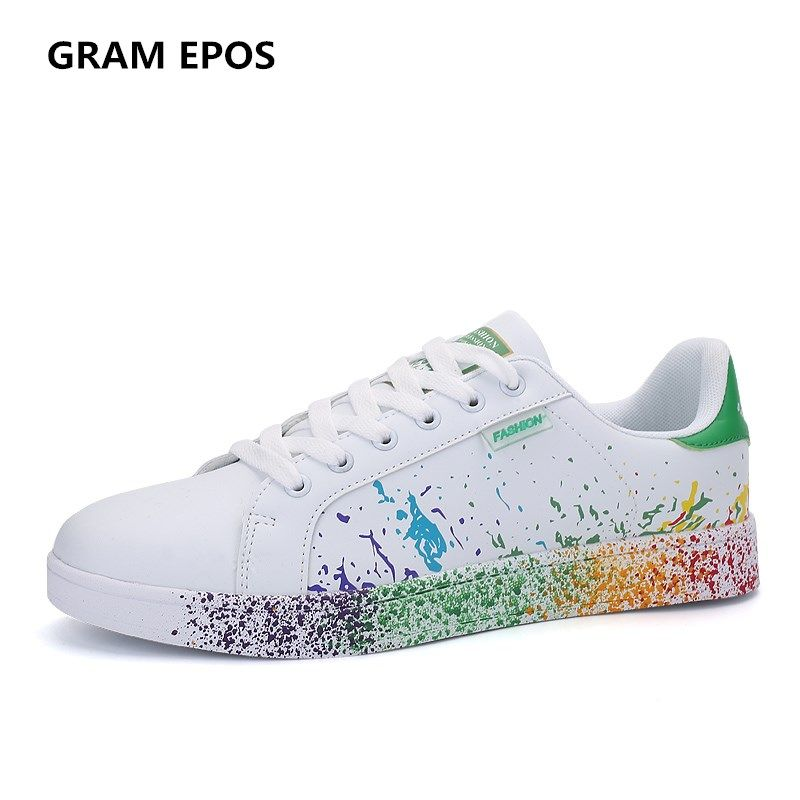 GRAM EPOS Male Casual Footwear Men Shoes Breathable Tenis White Shoes Super Star Zapatilla Stans Chaussure Homme Plus Size 35-45