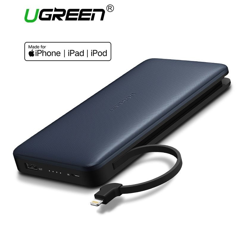 Ugreen Power Bank 20000mah Portable Fast Charging Powerbank for iPhone X Huawei P20 LG Xiaomi External Battery Charger for Phone