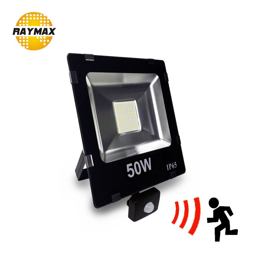 Outdoor Led <font><b>FloodLight</b></font> with motion sensor PIR sensor led Flood light IP65 10w 20w 30w 50w led security outdoor ulrta bright IP65