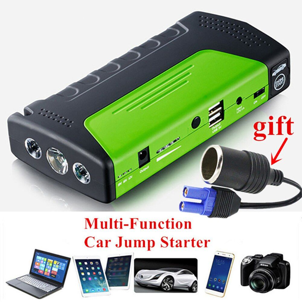 Mini Emergency Starting Device Car Jump Starter 12V Portable Power Bank Car Charger for phone battery starter Starting Device