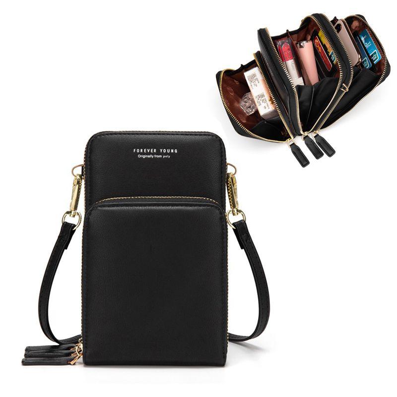 Livraison directe sac de téléphone portable coloré mode usage quotidien porte-carte petit sac à bandoulière d'été pour les femmes