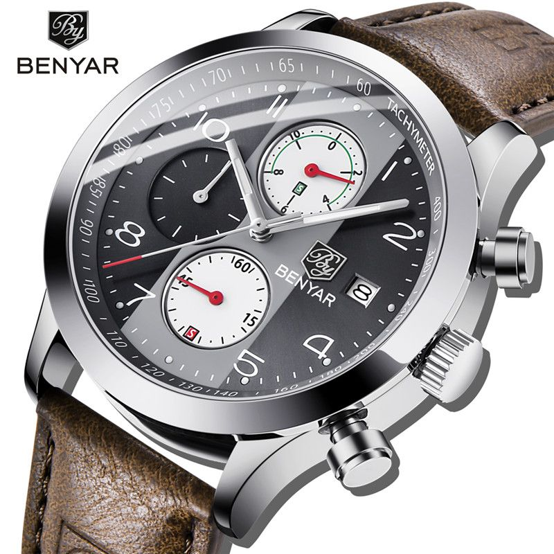 BENYAR Men's Watches/wrist watches sport/digital/military watch men wristwatch mens watches top brand luxury 2018 male watch NEW