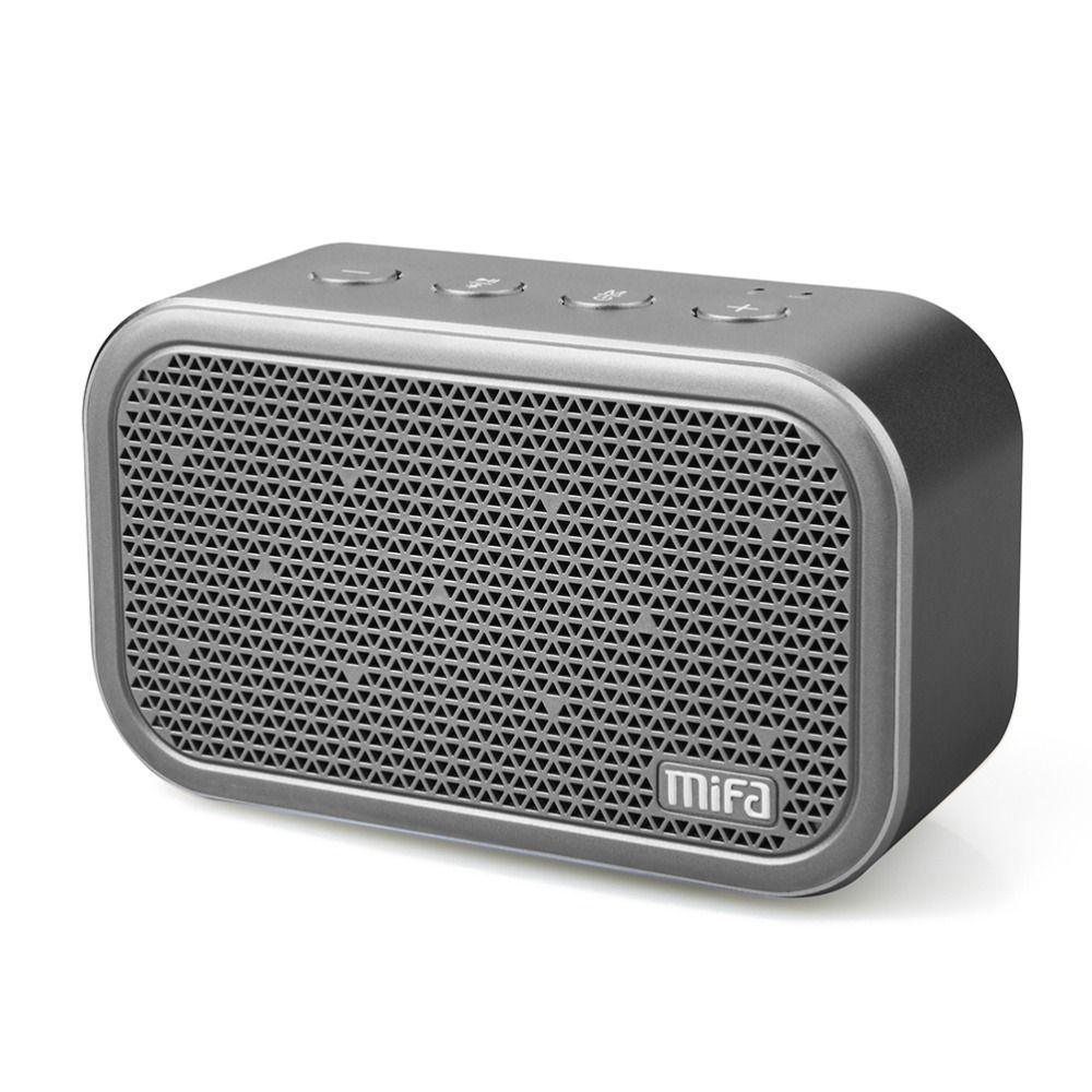 MIFA M1 haut-parleur Bluetooth Portable et Microphone intégré son stéréo Rock extérieur sans fil Bluetooth haut-parleur Support carte TF