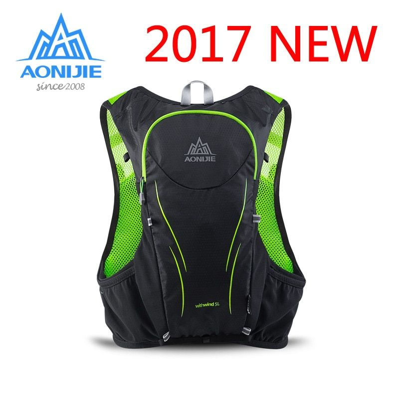 AONIJIE man Super Light cross country running backpack hiking Hydration Bag Outdoor marathon vest for Cycling Climbing sports 5L