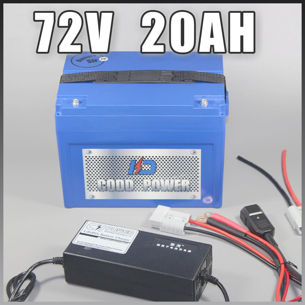 72V Lithium ion Battery Electric bicycle E-Bike Scooter 3000W Free EU US Duty tax