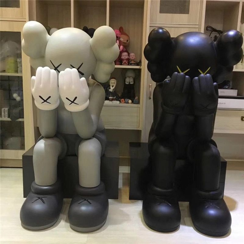 106cm KAWS Passing Through 2018 New in Box Sealed Open Edition Vinyl Figure Companion G1494
