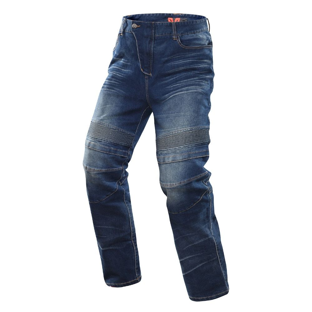 DUHAN Motorcycle Riding Jersey Riding Pants Waterproof Jeans Casual Pants Knee Protective Windproof Motorcycle Racing Jeans