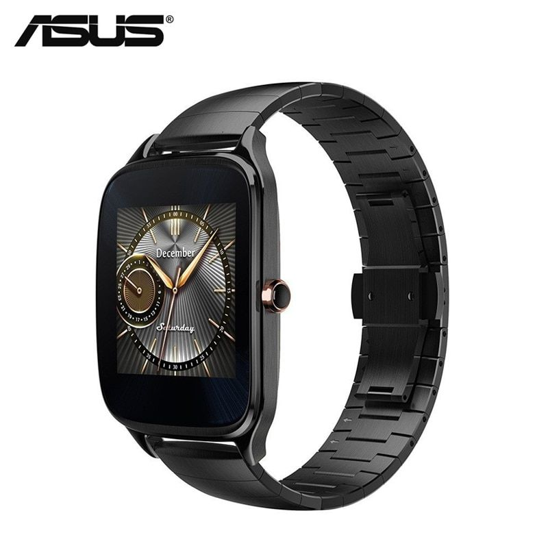 ASUS ZenWatch 2 Smart Watch GPS Android Wear 4GB ROM Waterproof Dial/Answer Call Passometer Sleep Tracker Multi-language WI501Q