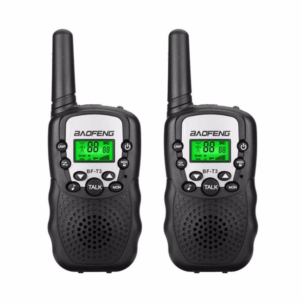 2 Pcs BaoFeng Mini Talkie Walkie En Plein Air Enfants Interphones Portable Aventure Radio Émetteur-Récepteur Léger Émetteur-Récepteur De Poche