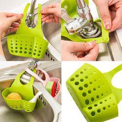 12x22 см корзины Портативный дома Кухня висит дренажный пакет корзина инструменты для ванны держатель для раковины Sep22