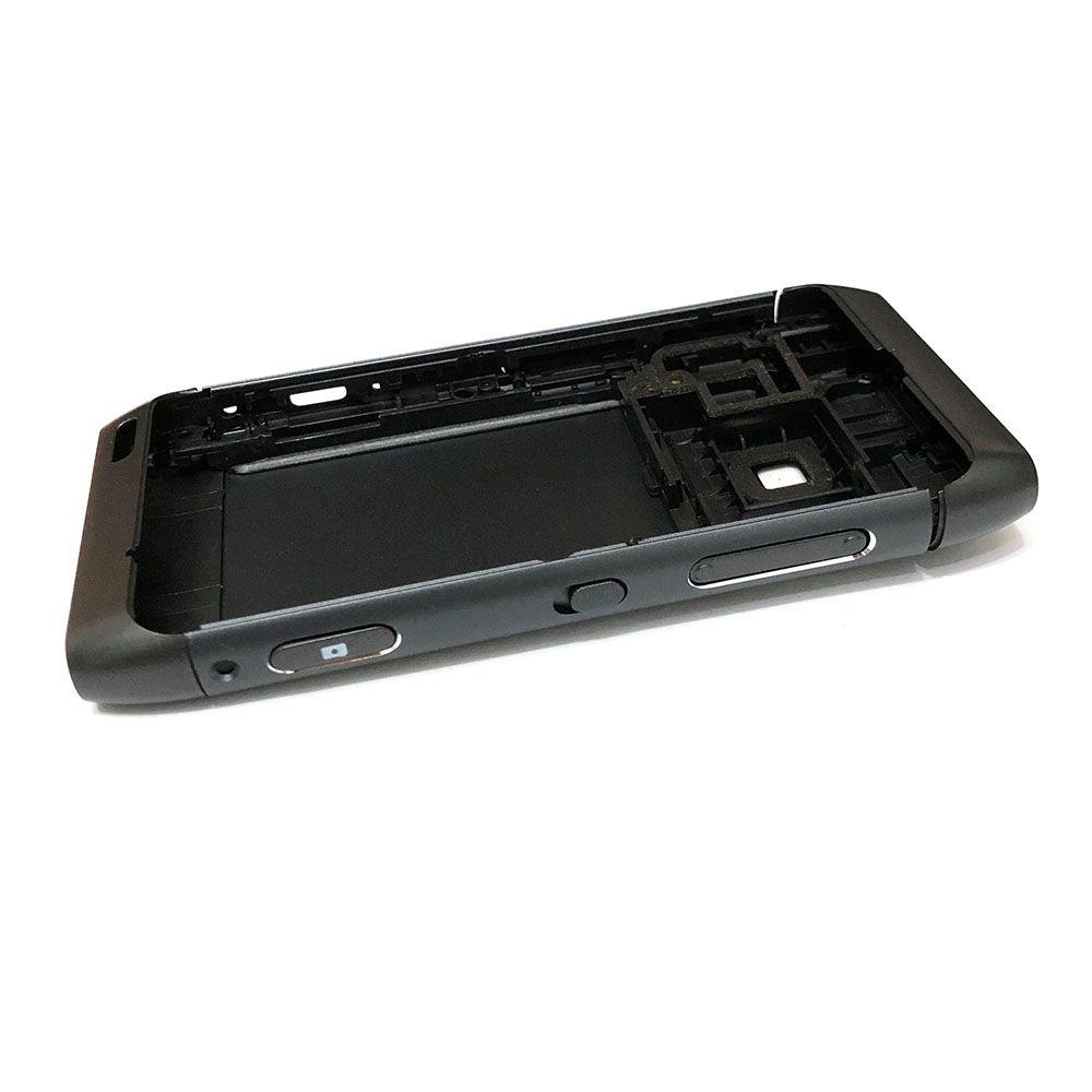 Couvercle avant complet N8 clavier pour Nokia N8-00 batterie couverture arrière boîtier de haute qualité + clavier