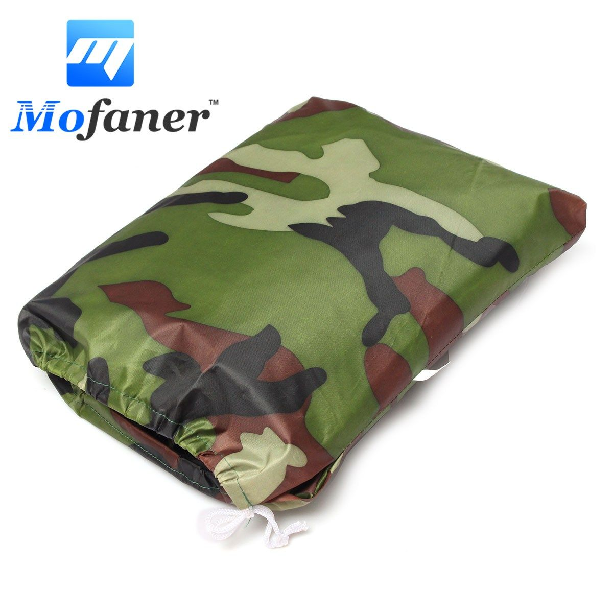 Mofaner L 180T Camouflage Motorcycle Waterproof Cover Outdoor Protector Rain Dust Bike Motor Scooter ATV Covers