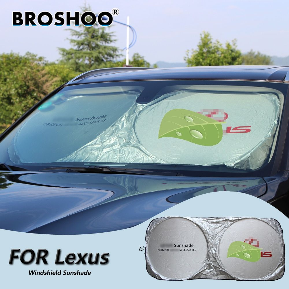 BROSHOO Car Windscreen Sunshade Front Window Sun Shade Windshield Visor Cover For Lexus RX400H IS250 RX300 ES350 LS460L RX350