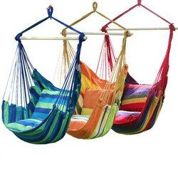 YXY Hanging College Chair Indoor Outdoor Furniture Hammocks Thick Canvas Dormitory Swing with 2 Pillows Hammock Camping New