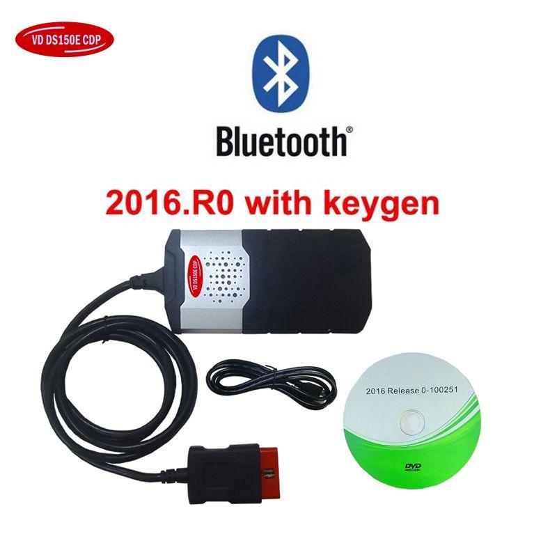 2018 new vci tcs obd obd2 scanner V3.0 relays 2015R3 keygen/2016.00 for delphis vd ds150e cdp bluetooth car diagnostic tool