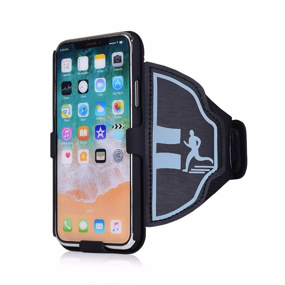 Sports mobile phone case armband For iPhone X 10 7 8 PLUS 5s se 6s plus 8plus Gym Running Exercise Phone Holder Pouch arm band